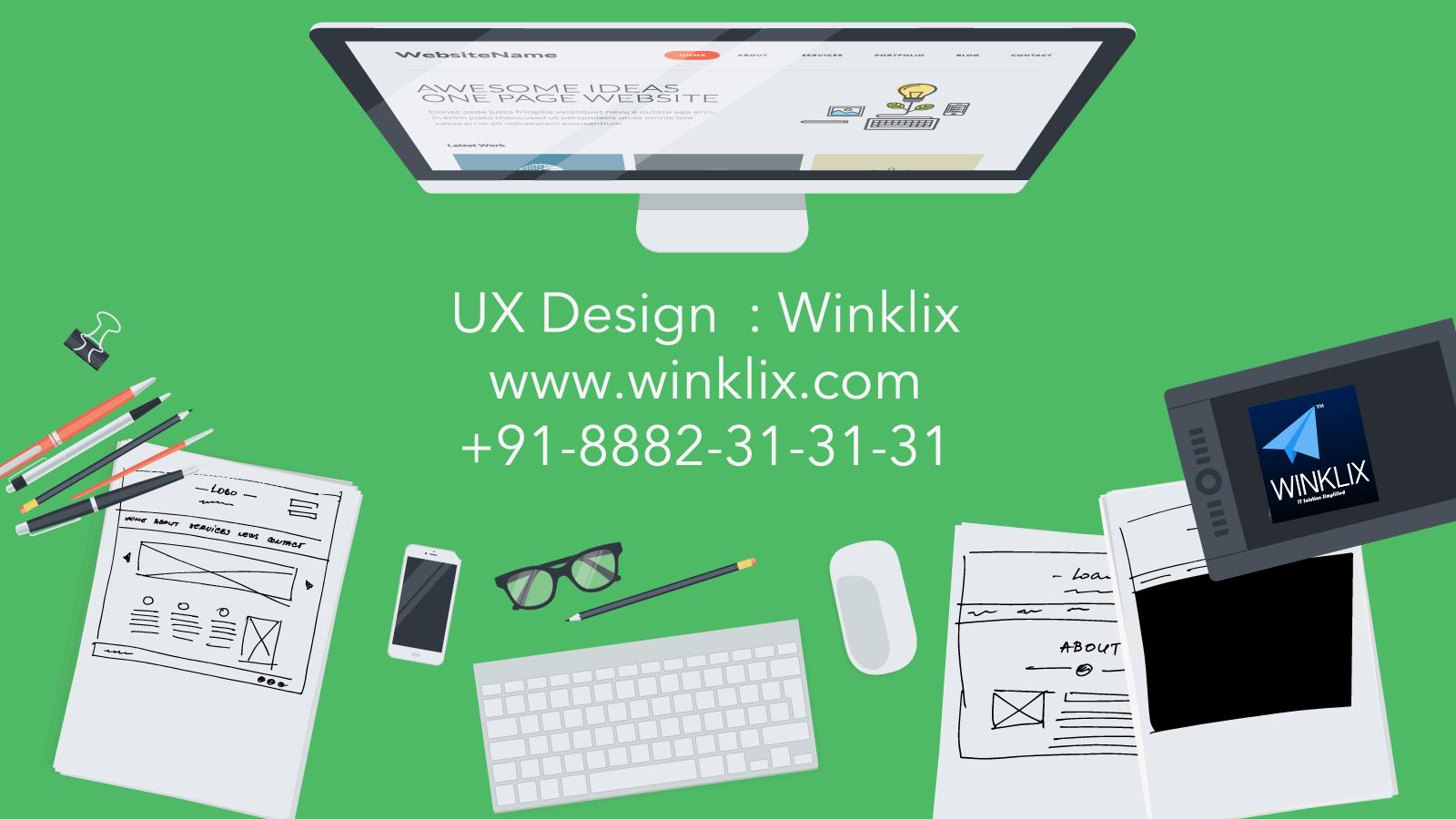 ux designer winklix delhi