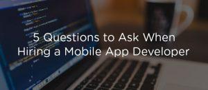 5 question app development winklix