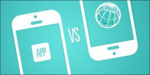 app vs website