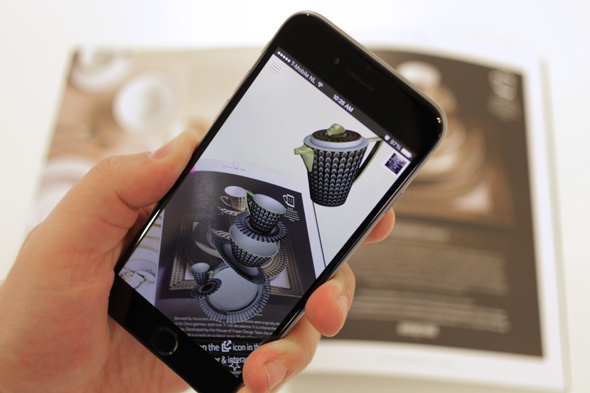augmented reality app. developer