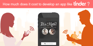cost to develop an app like tinder