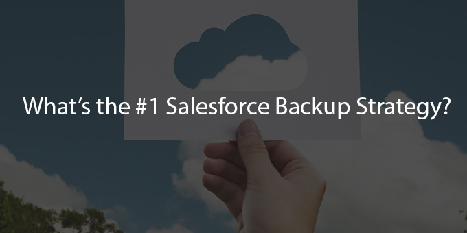 Which Is Best Strategy To Restore SalesForce Data