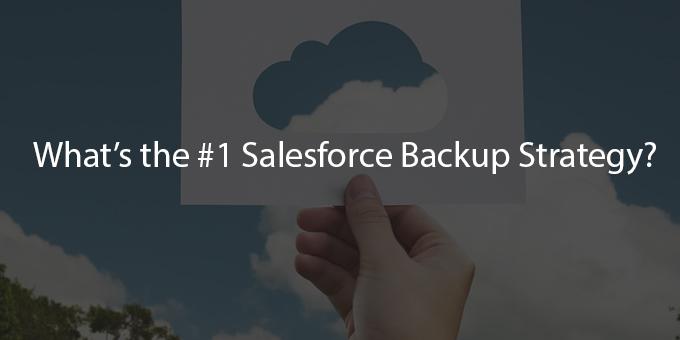 Which Is Best Strategy To Restore SalesForce Data