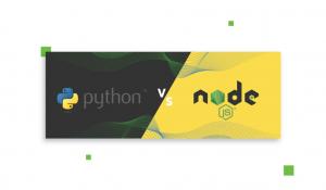 Comparison : Python Vs Node.JS